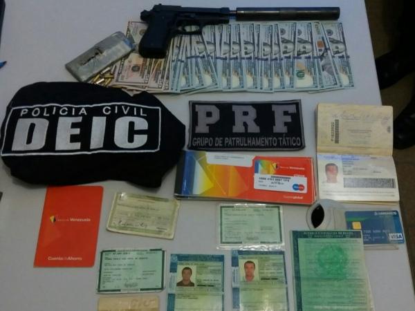 Polícia Civil e PRF cumprem mandados de busca e apreensão em Maceió