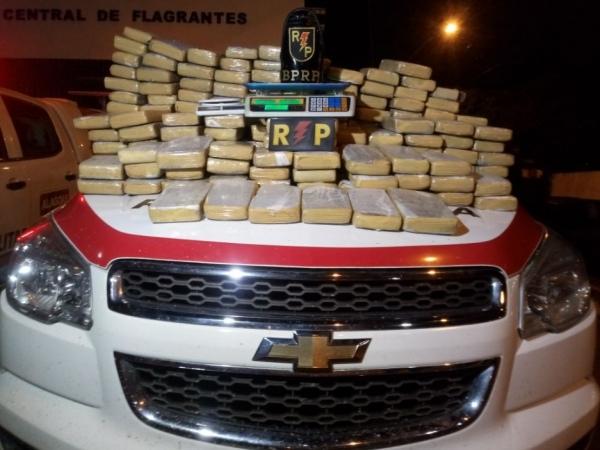 Polícia apreende cerca de 200 quilos de maconha no Eustáquio Gomes