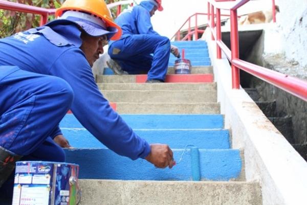 VIDA NOVA NAS GROTAS Governo amplia serviços de infraestrutura de novas grotas de Maceió nesta quarta (11)