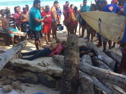 Homem morre e outro fica ferido após atentado na praia do francês em Marechal Deodoro