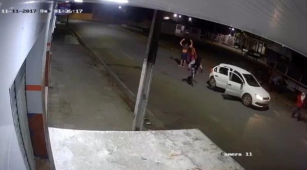 Polícia Civil divulga imagens de assaltantes da agência de Anadia