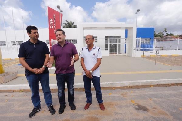 REESTRUTURAÇÃO Renan Filho visita obras estratégicas do Governo na Região Norte do Estado