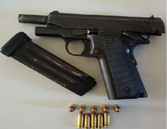 Fugitivo do Mato Grosso é preso em flagrante com pistola