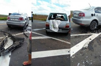 Colisão frontal entre automóveis resulta em vítima fatal na AL-220, em Major Izidoro
