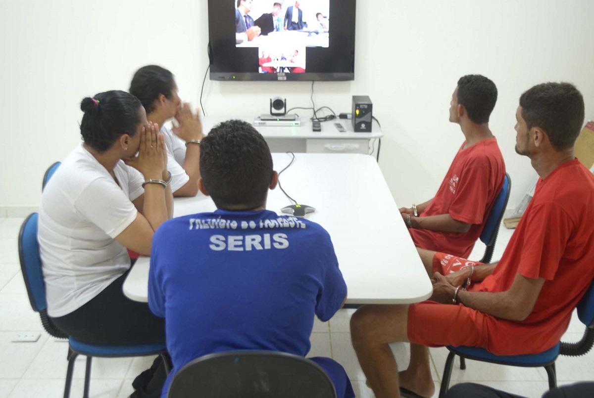 JUSTIÇA NO CÁRCERE Número de audiências telepresenciais cresce no sistema prisional