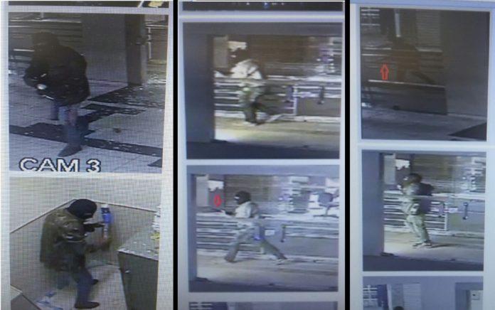Polícia Civil divulga imagens de assaltantes de agência bancária em Teotônio Vilela