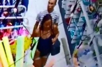 Funcionários flagram furto em loja, seguem suspeitos e acabam sob mira de arma
