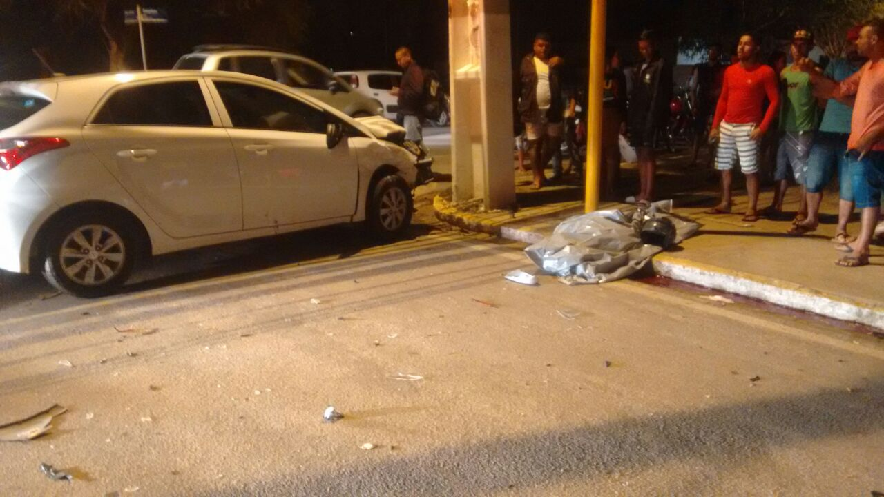 Policial Militar de Pernambuco morre em colisão, próximo ao Shopping de Arapiraca