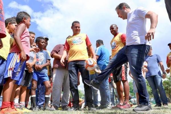 MARECHAL DEODORO Governador anuncia construção de escola em tempo integral em Massagueira
