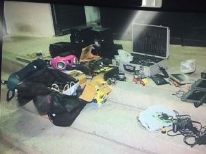 PM recupera objetos roubados em assalto à residência na parte alta e Maceió