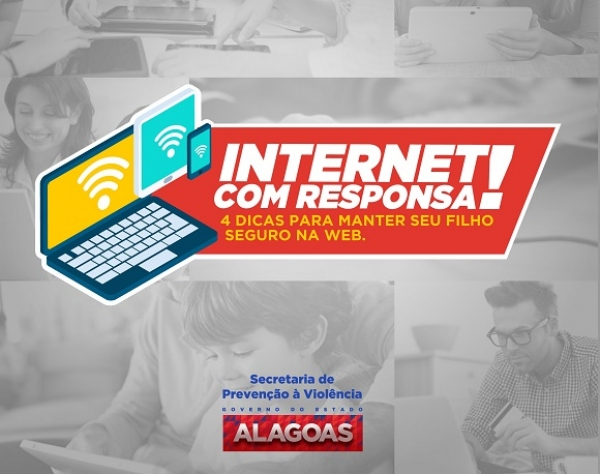 INTERNET SEGURA Campanha da Seprev alerta sobre cuidados com crianças e adolescentes na Internet