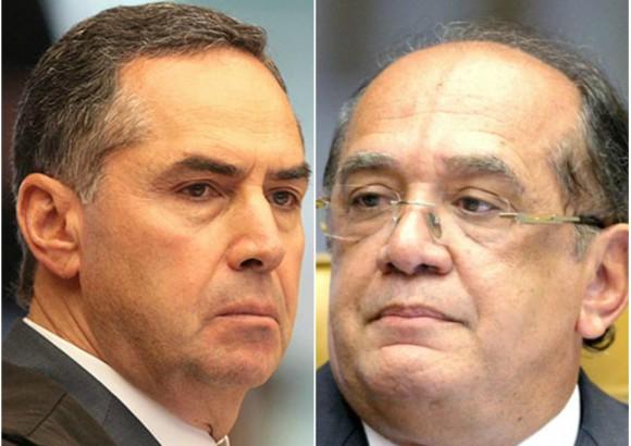"""""""Não troco mensagens amistosas com réus"""", diz Barroso, em resposta a críticas de Gilmar"""