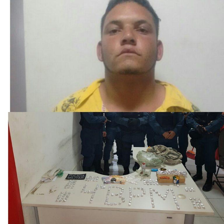 PM de AL e SE prendem homem acusado de tráfico de drogas em Piranhas