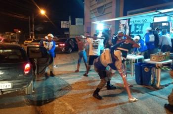 Operação da Lei Seca em Arapiraca prende uma pessoa por embriaguez e autua 100