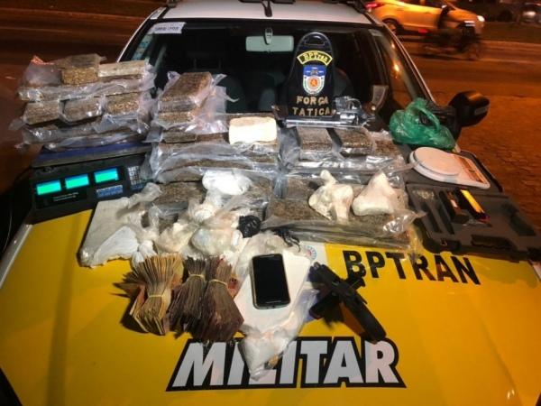 Homem é preso com R$ 85 mil e 35 kg de maconha na região metropolitana de Maceió