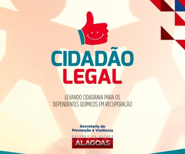 REINSERÇÃO SOCIAL Governador lança Programa Legal que reinsere dependentes químicos ao mercado de trabalho