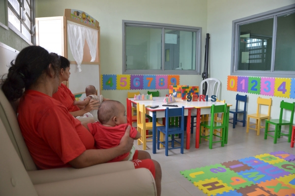 DESENVOLVIMENTO INFANTIL Ala materno-infantil do presídio Santa Luzia é inaugurada para atender melhor as gestantes, lactantes e bebês