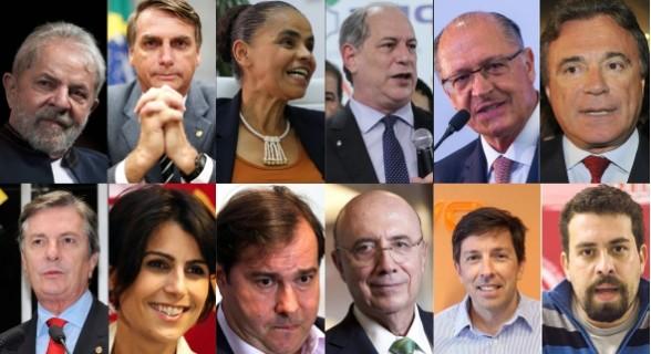 Os pontos fortes e os pontos fracos dos pré-candidatos à Presidência da República