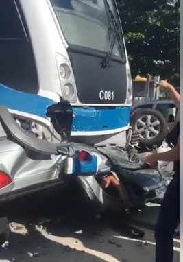Morre santanense vítima de colisão entre carro e VLT