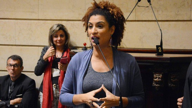 Vereadora do Psol Marielle Franco é assassinada a tiros na região central do Rio