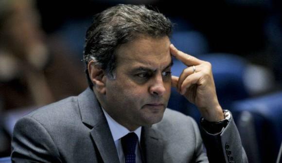 Marco Aurélio Mello inclui na pauta do STF denúncia contra Aécio por corrupção