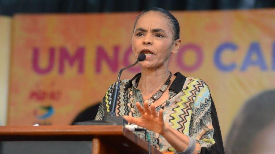 Datafolha: sem Lula, Marina cresce e empata com Bolsonaro