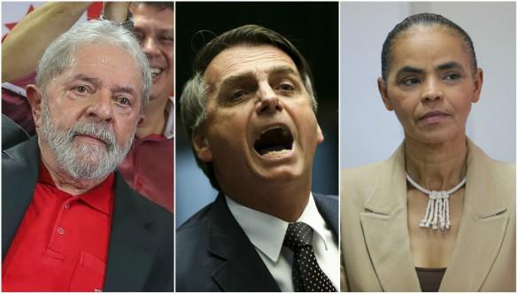 Preso, Lula perde apoio, mas ainda lidera. Sem ele, Marina empata com Bolsonaro, aponta Datafolha