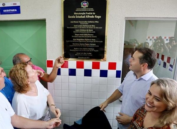 IGREJA NOVA Mais de 160 escolas já foram reformadas em Alagoas