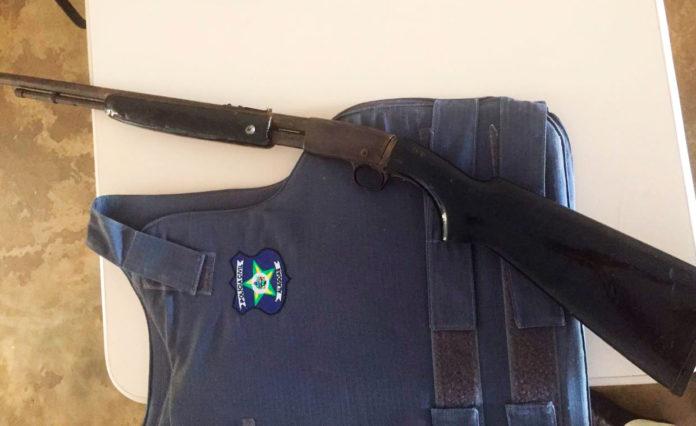Polícia Civil apreende arma de fogo no Sertão