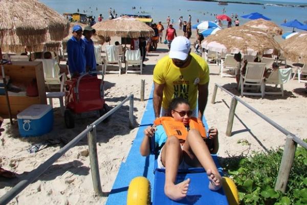 INCLUSÃO SOCIAL Praia sem Barreiras é lançado em Marechal Deodoro