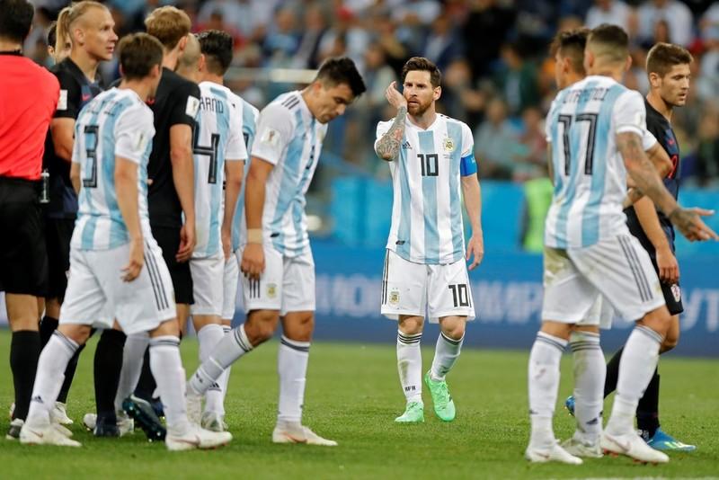 Argentina é humilhada pela Croácia  equipe perdeu por 3 x 0
