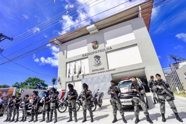 NOVA SEDE BPRP Segurança Pública recebe o maior volume de investimentos da história, diz governador