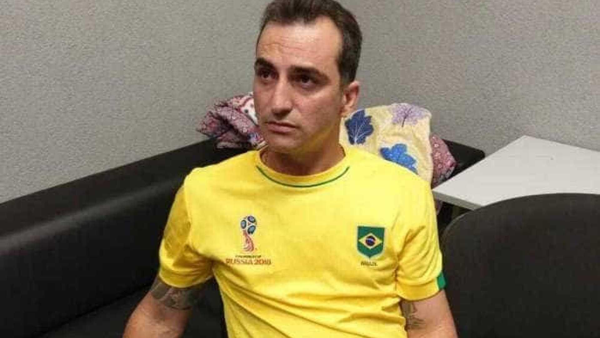 Identificado brasileiro preso durante jogo do Brasil na Rússia