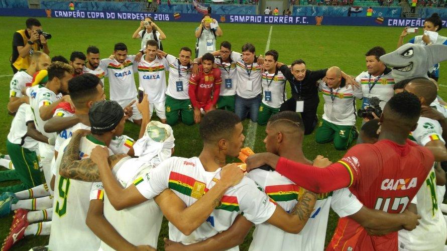 Campeão do Nordestão, Sampaio Corrêa fatura R$ 3,65 milhões; Bahia ganha R$ 2,60 mi