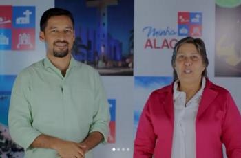 VÍDEO. Célia Rocha afirma apoio a Rodrigo Cunha para o Senado