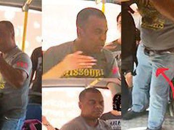 Estudante reage a assédio e agride homem suspeito de ato obsceno dentro de ônibus, em Maceió