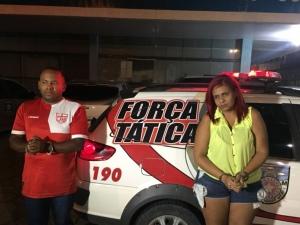 Motorista de Uber e passageira são presos por tráfico de drogas no Jacintinho
