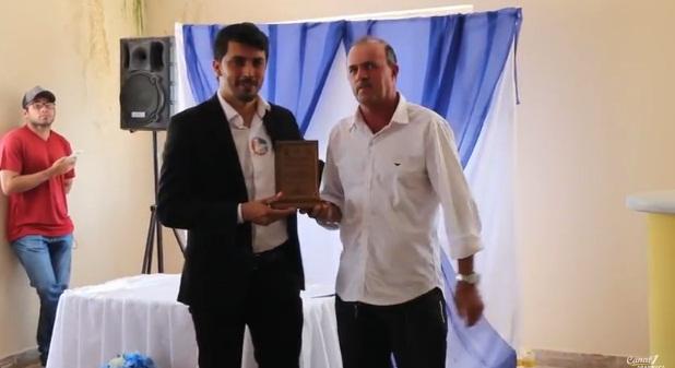 Vídeo: Prefeito de Ouro Branco recebe homenagem da câmara de vereadores do município