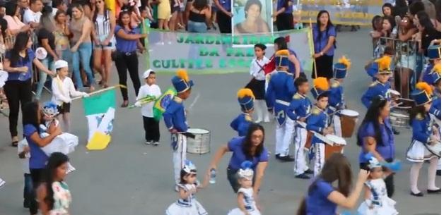 Ouro Branco realizou o maior desfile cívico de Alagoas em homenagem a pátria