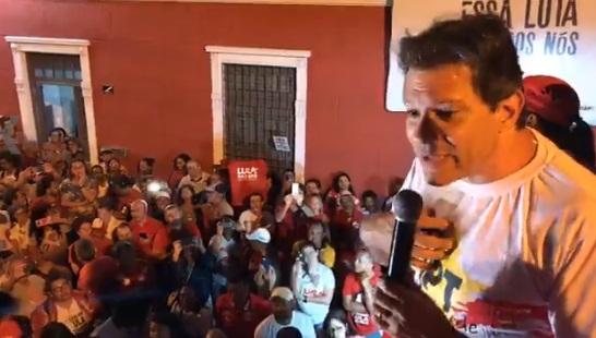 Haddad em Maceió: Assista discurso completo