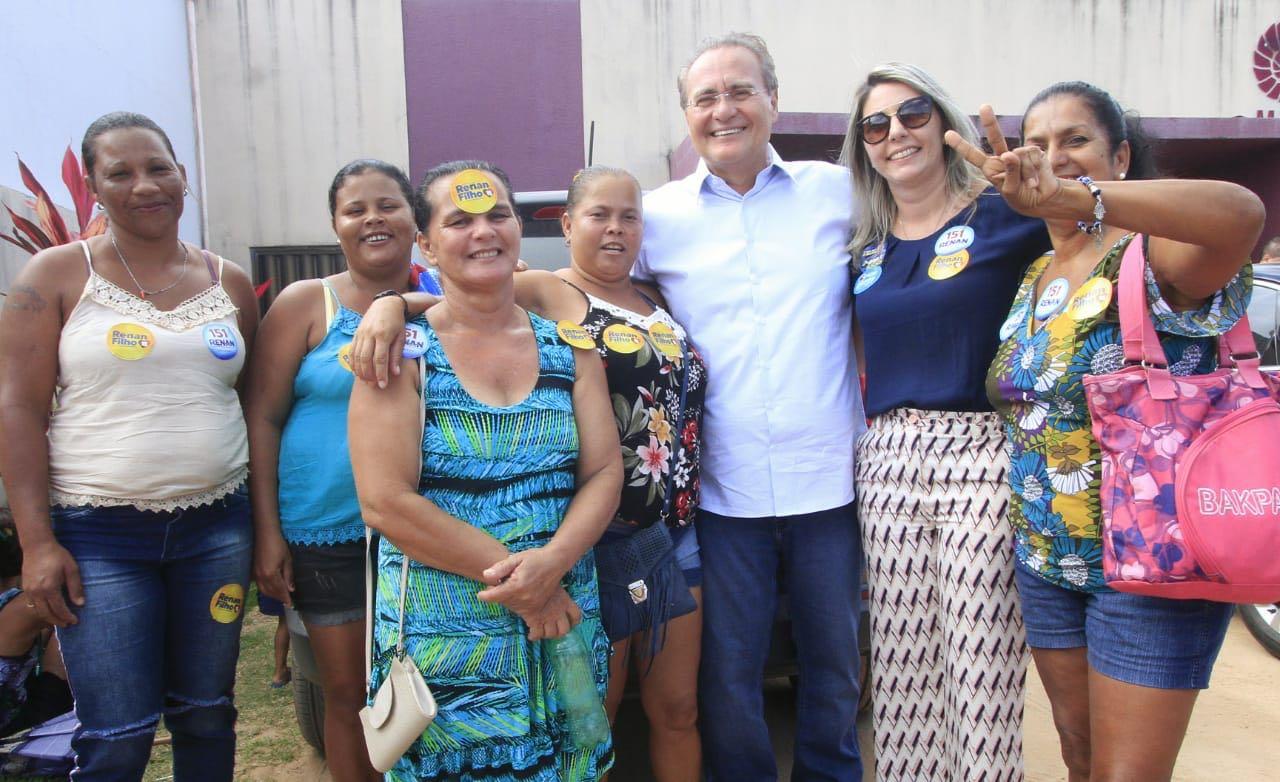 Em entrevista, senador Renan afirma que é importante eleger pessoas com representatividade para defender Alagoas