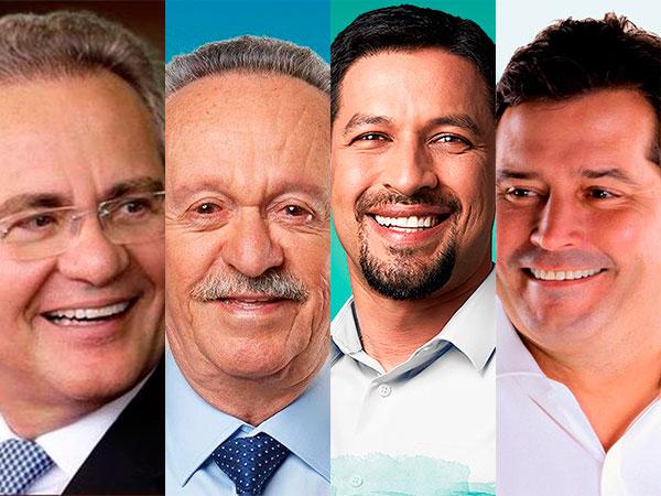 Ibope/Senado: Rodrigo 33%, Renan 27%, Quintella 15% e Biu 14% dos votos válidos