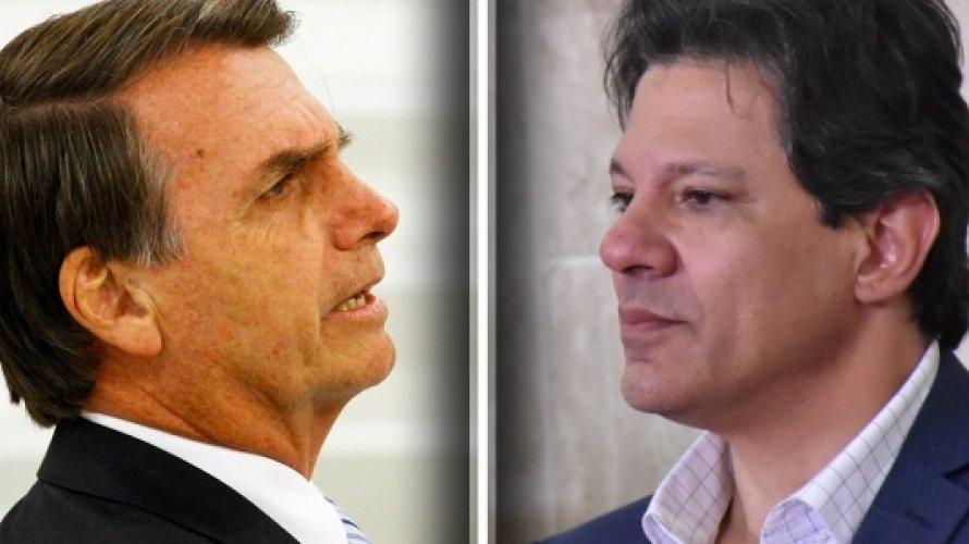 Ibope: Haddad ultrapassa Bolsonaro na cidade de São Paulo