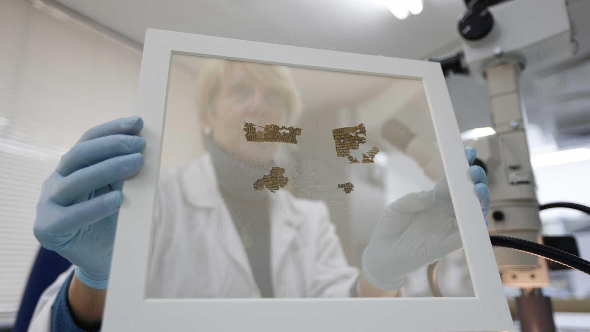 Museu da Bíblia anuncia que alguns Manuscritos do Mar Morto são falsos