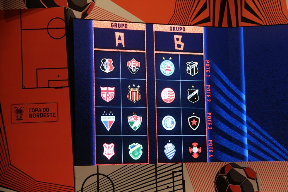 CBF divulga tabela da Copa do Nordeste