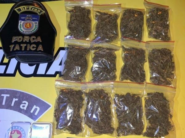 Preso suspeito de vender drogas com promoções do Black Friday
