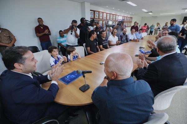 BRASILEIRÃO Governador dá primeiro passo para que o Estádio Rei Pelé receba jogos da Série A