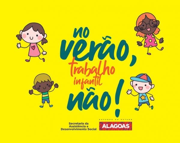 EM 21 MUNICÍPIOS Campanha de Combate ao Trabalho Infantil será intensificada no verão