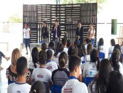 """Ministério Público continua com atividades do projeto """"Paz nas Escolas"""", em Santana do Ipanema"""