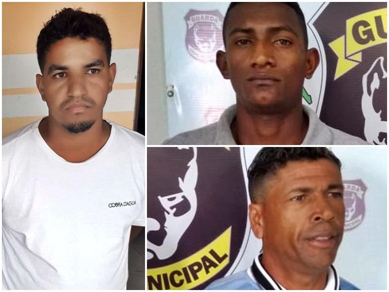 Guarda Civil prende dupla por roubo de moto e homem procurado por homicídio em Teotônio Vilela